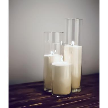 Набор больших насыпных свечей напольный AGNI set 8